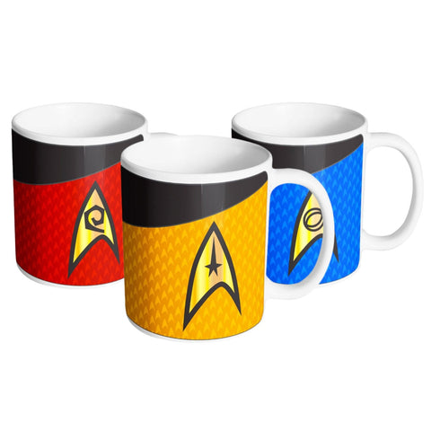Star Trek Uniform Mug