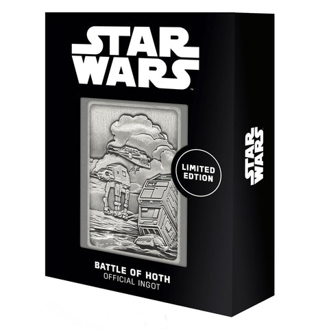 Star Wars Battle of Hoth Limited Edition Ingot