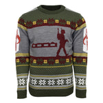 Star Wars Boba Fett Knitted Christmas Jumper / Sweater
