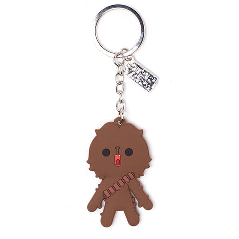 Star Wars Chewbacca Rubber Key Chain