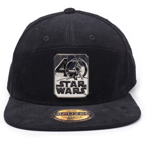 Star Wars 40th Anniversary Commemorative Snapback Cap