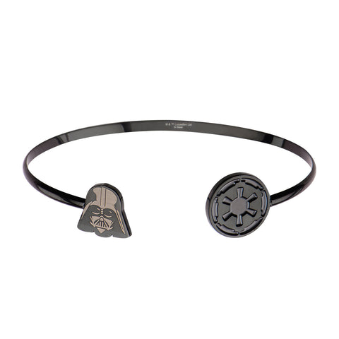 Star Wars Darth Vader Black Stainless Steel Bangle