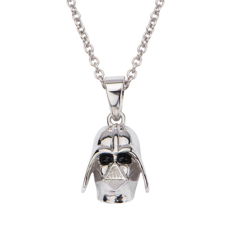 Star Wars Darth Vader Sterling Silver Pendant & Chain