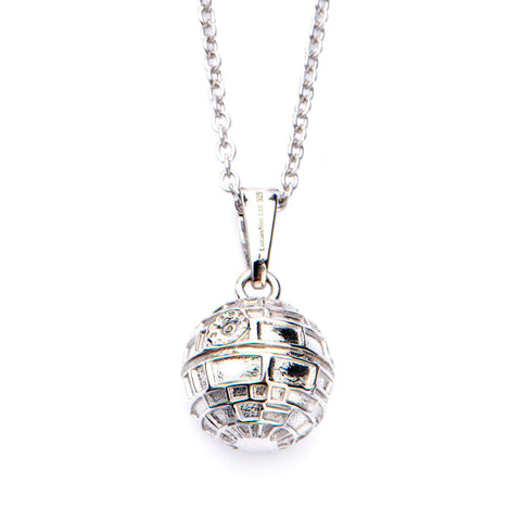 Star Wars Death Star Sterling Silver Pendant