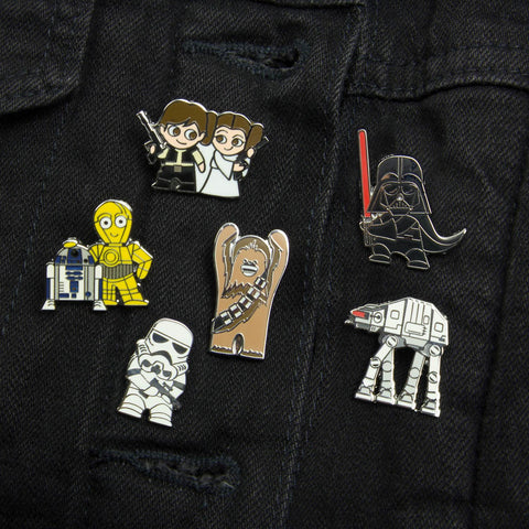 Star Wars Enamel Pin Badges