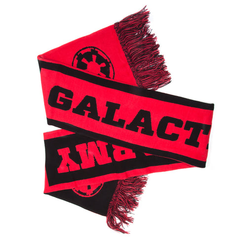 Star Wars Galactic Army Red and Black Scarf