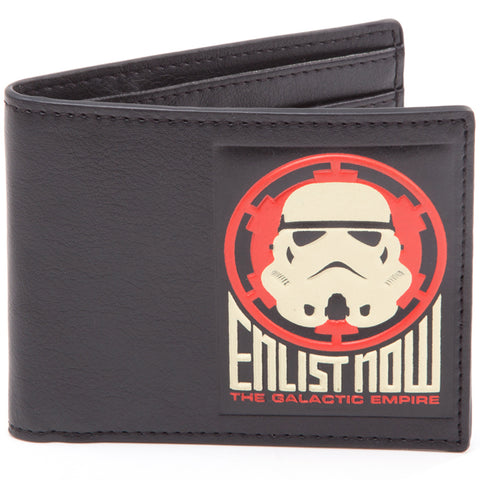 Star Wars Galactic Empire Propaganda Bi-Fold Wallet