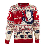 Star Wars Han & Leia Couples Knitted Christmas Jumpers / Sweaters