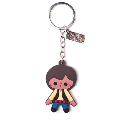 Star Wars Han Solo Rubber Key Chain
