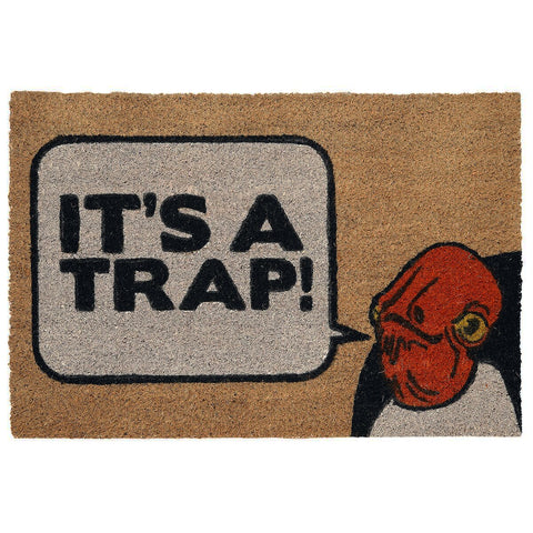 Star Wars Admiral Ackbar 'It's a Trap' Coir Door Mat