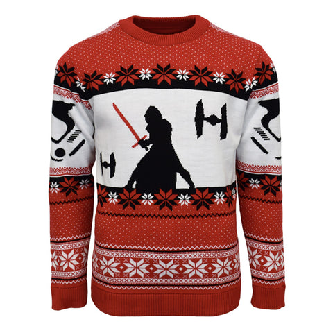 Star Wars: The Last Jedi Kylo Ren Knitted Christmas Jumper / Sweater