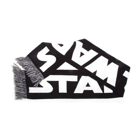 Star Wars Black and White Logo Scarf