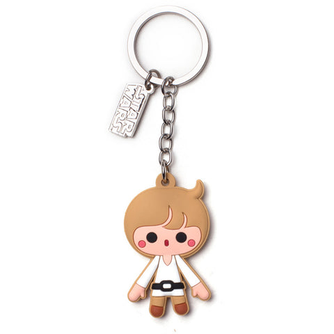 Star Wars Luke Skywalker Rubber Key Chain