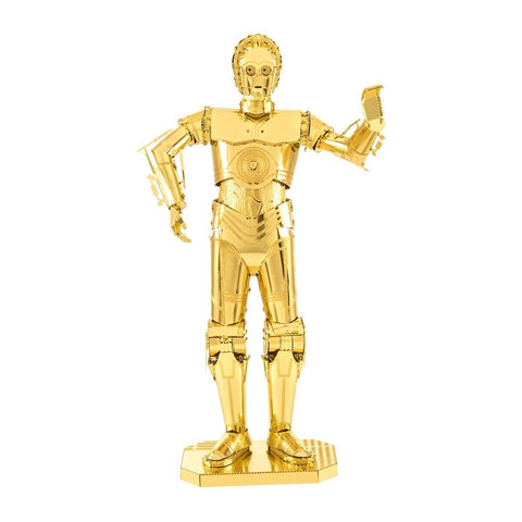 Star Wars C-3PO DIY Metal Earth Model Kit