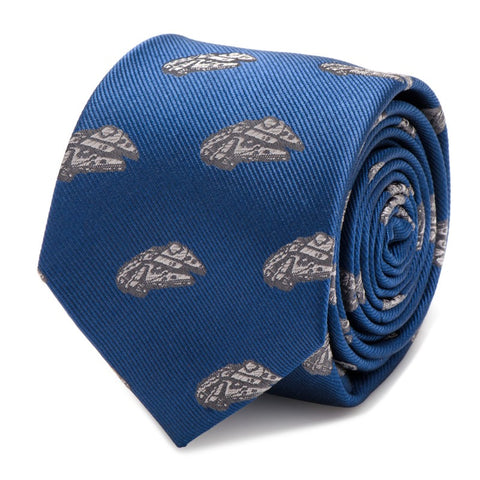 Star Wars Millennium Falcon Silk Tie
