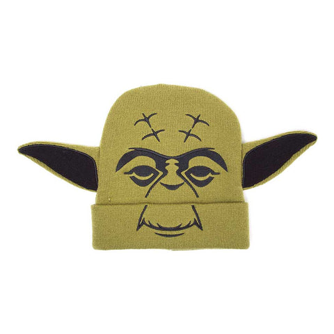 Star Wars Novelty Yoda Beanie Hat with Ears