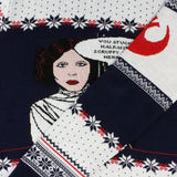 Star Wars Princess Leia Knitted Christmas Jumper / Sweater