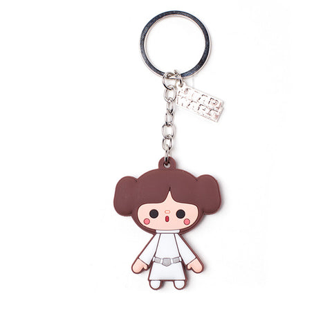 Star Wars Princess Leia Rubber Key Chain
