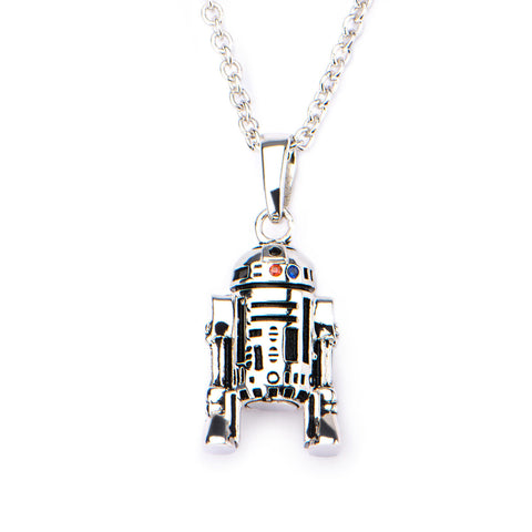 Star Wars R2-D2 Sterling Silver Pendant