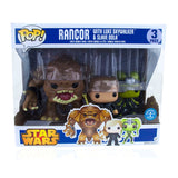 Star Wars Funko Pop! Vinyl Rancor with Luke & Slave Oola Set
