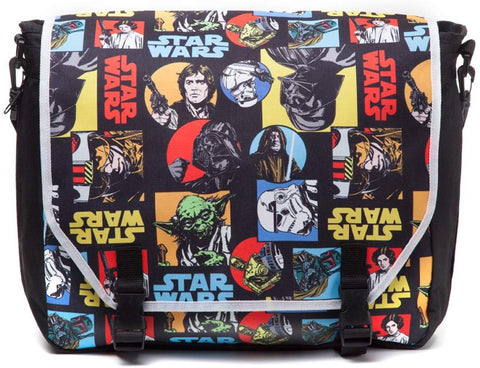 Star Wars Retro Comic Style Messenger Bag