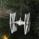 Star Wars Christmas Tree Ornaments - Silver (Set of 6)