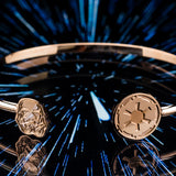 Star Wars Storm Trooper Rose Gold Stainless Steel Bangle