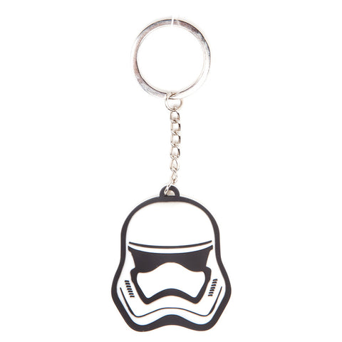 Star Wars Stormtrooper Mask 3D Rubber Key Chain