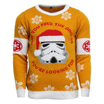 Star Wars Stormtrooper Knitted Christmas Jumper / Sweater