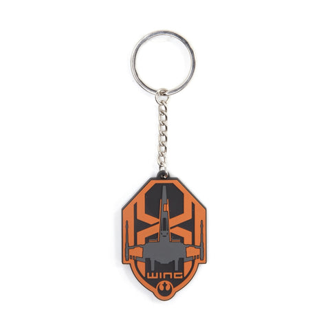 Star Wars X-Wing Rubber Key Chain