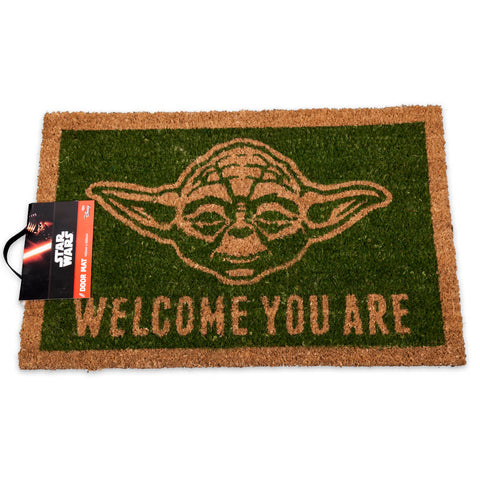 Star Wars Yoda Coir Doormat