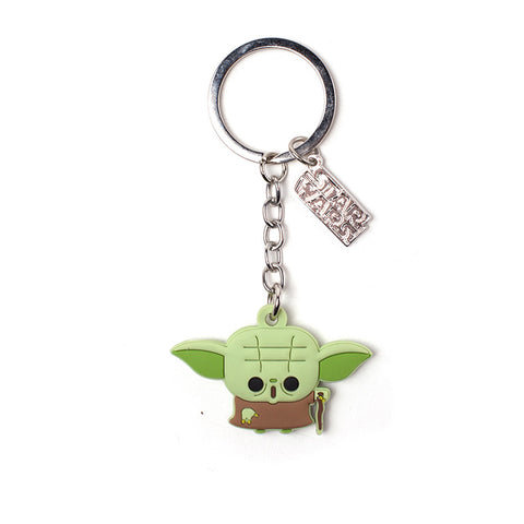 Star Wars Master Yoda Rubber Key Chain