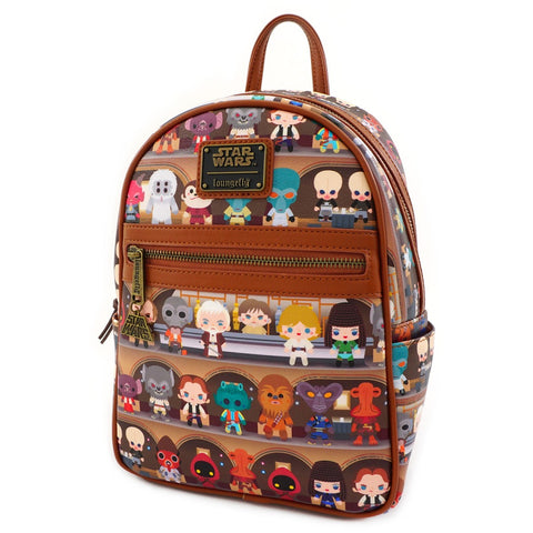 Loungefly x Star Wars Mos Eisley Cantina Mini Backpack
