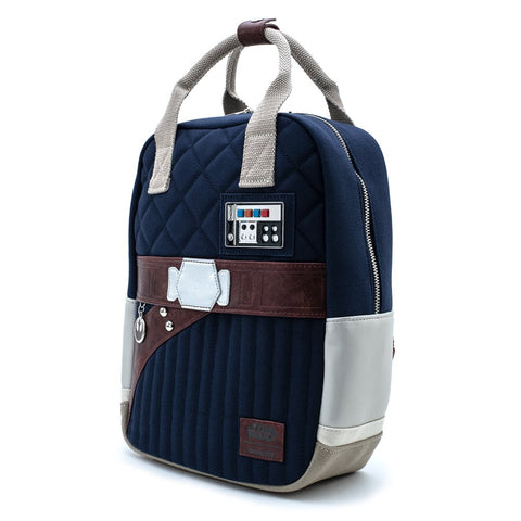Loungefly x Star Wars Empire Strikes Back 40th Anniversary Han Solo Hoth Canvas Backpack
