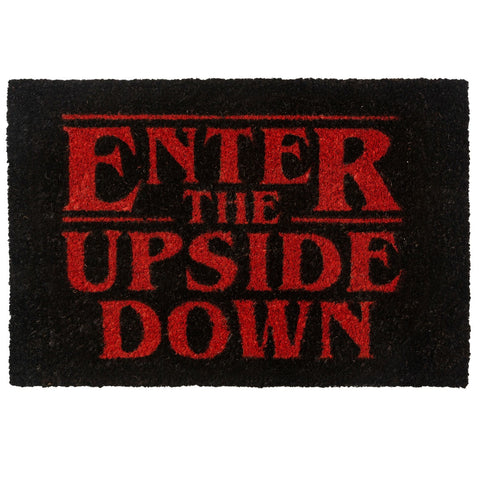 Stranger Things Enter the Upside Down Coir Doormat