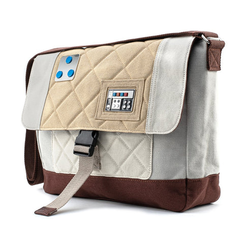 Loungefly X Star Wars Empire Strikes Back 40th Anniversary Luke Skywalker Hoth Canvas Satchel