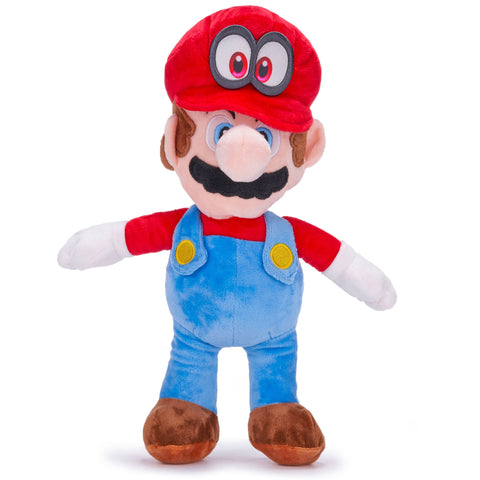 Super Mario - Mario and Cappy 36cm Large Plush Toy