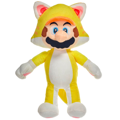 Super Mario Cat Suit Mario 36cm Large Plush Toy
