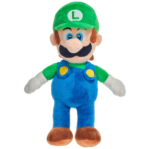 Super Mario Classic Luigi 36cm Large Plush Toy