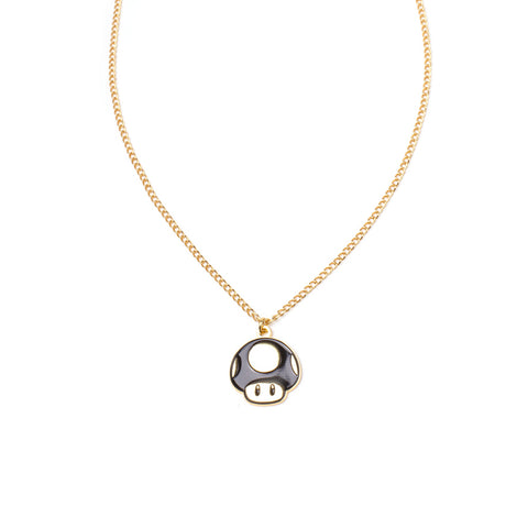 Super Mario Golden Super Mushroom Necklace