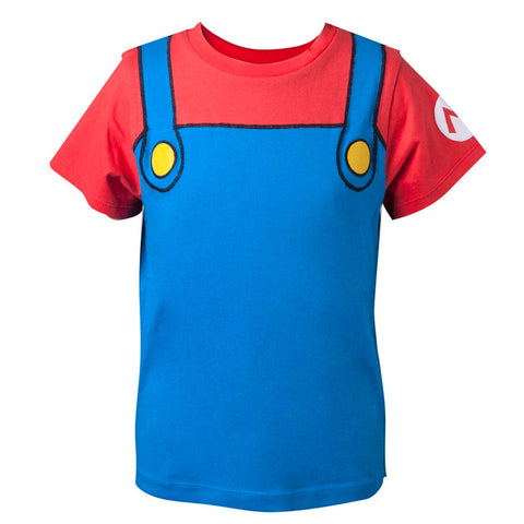 Super Mario Classic Mario Kid's Costume T-shirt