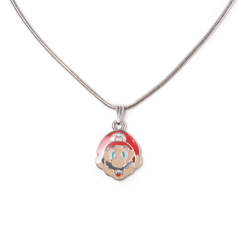 Super Mario Mario Character Necklace
