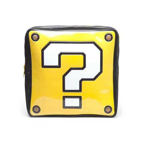 Super Mario Question Block Novelty Backpack