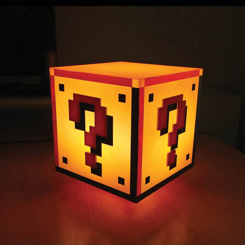 Super Mario Question Block Light with Sound