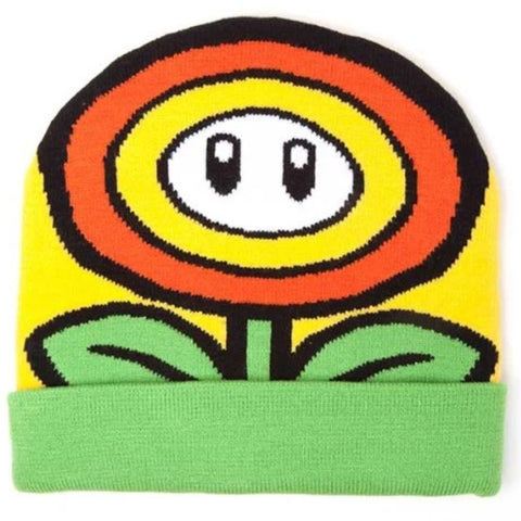 Super Mario Sunflower Beanie Hat