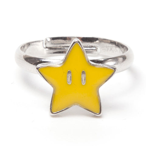 Super Mario Super Star Clasp Ring