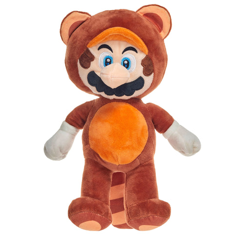 Super Mario Tanooki Suit Mario 36cm Large Plush Toy