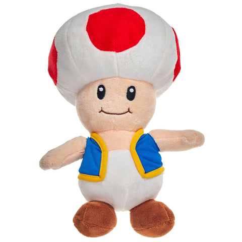 Super Mario Toad 36cm Large Plush Toy