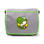Super Mario Premium Yoshi Checkered Messenger Bag