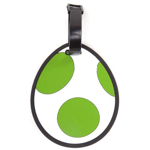 Super Mario - Yoshi Egg Luggage Tag